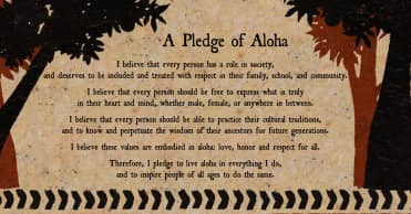 pledge of aloha