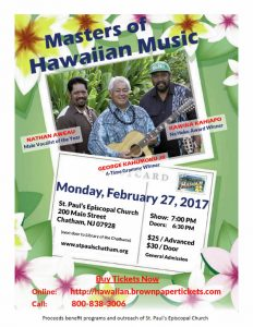 Hawaiian music New Jersey