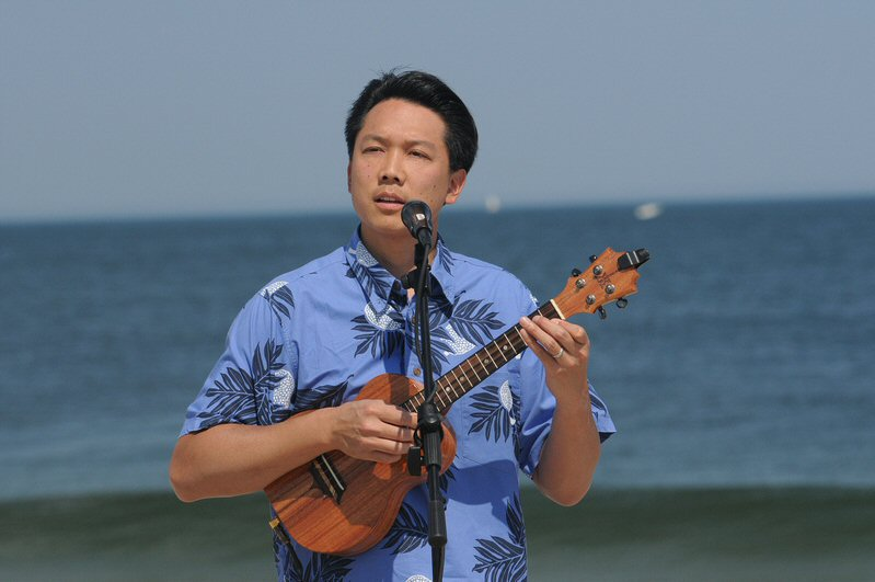 Ukulele wedding ceremony Point Pleasant, New Jersey